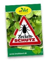 Flyer Zecken Schutz, cdVet
