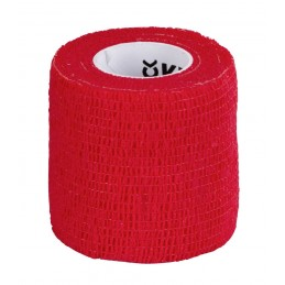 Selbsthaftende Bandage, rot